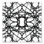 Futuristic Minimal Pattern Photo Print