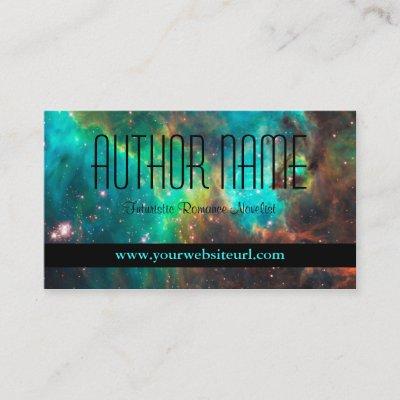 Futuristic business card green business card zazzle colourmoves