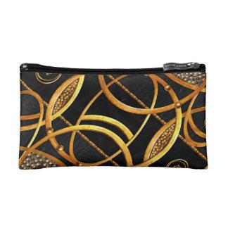 Futuristic Ornament Decorative Print Makeup Bag