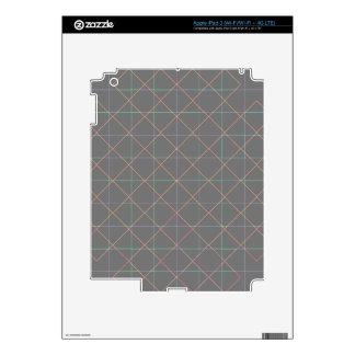 Futuristic Pinstripes iPad 3 Decal