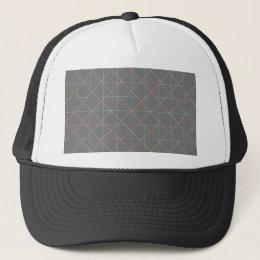 Futuristic Pinstripes Trucker Hat