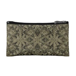 Futuristic Polygonal Makeup Bag