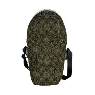 Futuristic Polygonal Messenger Bag