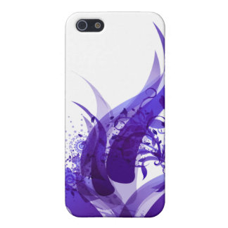 Futuristic  Purple IPhone Case Covers For iPhone 5