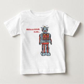 Futuristic robot clothing baby T-Shirt