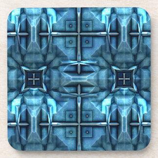 Futuristic Sci-Fi Armour 1 Drink Coasters
