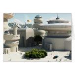 Futuristic Sci-Fi townscape Cards