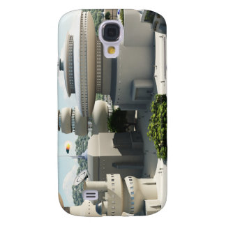 Futuristic Sci-Fi townscape Samsung Galaxy S4 Covers