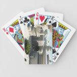 Futuristic Sci-Fi townscape Deck Of Cards