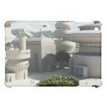 Futuristic Sci-Fi townscape iPad Mini Cover