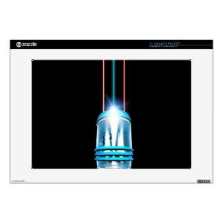"""Futuristic Space Elevator 15"""" Laptop Decal"""