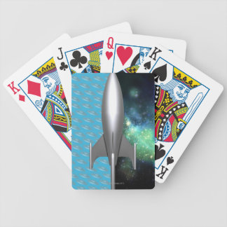 Futuristic Space Exploration Bicycle Poker Deck