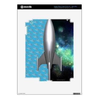 Futuristic Space Exploration Decals For iPad 3