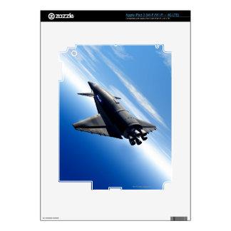 Futuristic Space Shuttle Decal For iPad 3