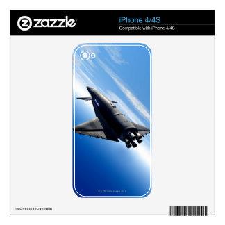 Futuristic Space Shuttle iPhone 4 Decals