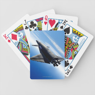 Futuristic Space Shuttle Bicycle Playing Cards