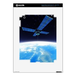 Futuristic Space Station iPad 3 Decal
