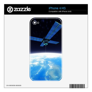Futuristic Space Station iPhone 4S Decal