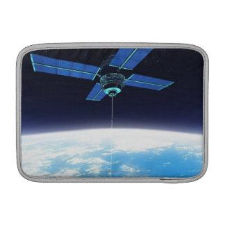 Futuristic Space Station MacBook Sleeve