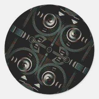 Futuristic Structure Sticker