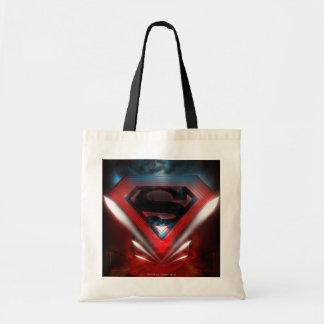 Futuristic Superman Logo Tote Bags