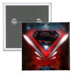 Futuristic Superman Logo Button
