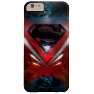 Futuristic Superman Logo Barely There iPhone 6 Plus Case