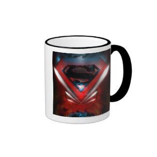 Futuristic Superman Logo Coffee Mugs