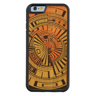 Futuristic technology abstract carved® cherry iPhone 6 bumper