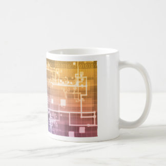 Futuristic Technology as a Next Generation Art Coffee Mug