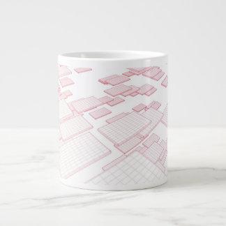 Futuristic Technology as a Next Generation Art Giant Coffee Mug