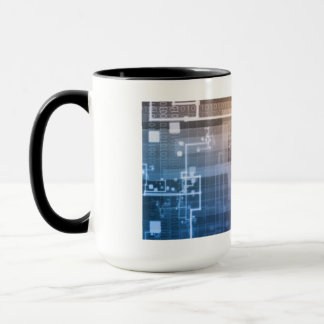 Futuristic Technology as a Next Generation Art Mug
