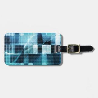 Futuristic Technology Tag For Luggage