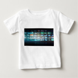 Futuristic Technology with Future Tech Abstract Baby T-Shirt