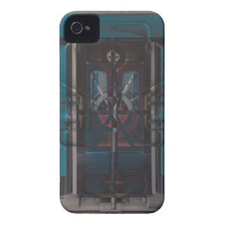 Futuristic Urban Subway Vault Digital Art iPhone 4 Cover