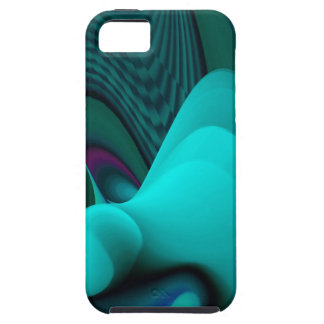 Futuristically, abstractly rainbow iPhone SE/5/5s case