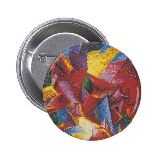 Futurists Genre Painting 2 Inch Round Button