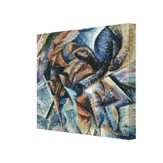 Futurists Genre Painting Canvas Print