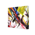 Futurists Genre Painting Gallery Wrap Canvas