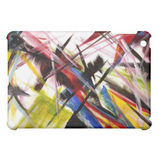 Futurists Genre Painting iPad Mini Cover