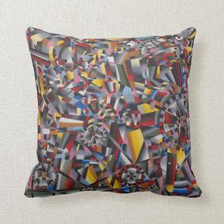 Futurists Genre Painting Pillows