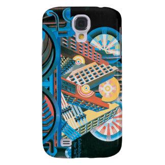 Futurists Genre Painting Samsung Galaxy S4 Case
