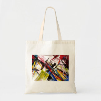 Futurists Genre Painting Tote Bag