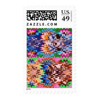Futuro colorido - transformaciones asombrosas sellos