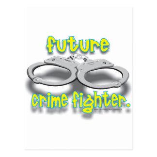 FUTURO CRIMEFIGHTER TARJETA POSTAL