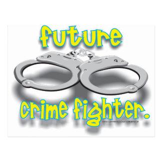 FUTURO CRIMEFIGHTER TARJETAS POSTALES