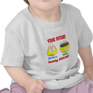 Futuro de la biología camiseta