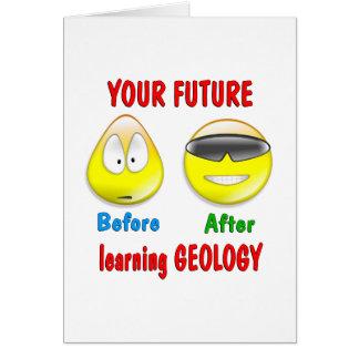 Futuro de la geología felicitaciones