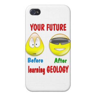 Futuro de la geología iPhone 4/4S fundas