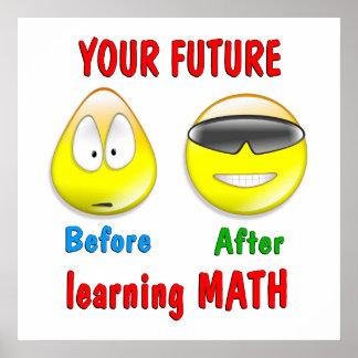 Futuro de la matemáticas póster
